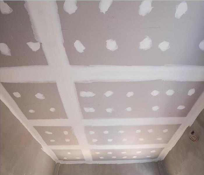 Mold Damage on Ceiling After